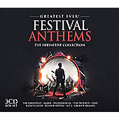 Various Greatest Ever Festival Anthems 3CD