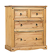 Home Essence Corona 2 Over 2 Drawer Chest