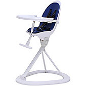 ickle bubba Orb Highchair (White/Royal Blue)