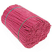Pipe cleaners Bulk Cerise Pack of 1000