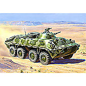 Zvezda - Soviet Personnel Carrier - BTR-70 APC - Afghanistan 1979-1989 - 1:35 Scale 3557