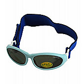 Idol Eyes Baby Wrap Sunglasses (Light Blue)