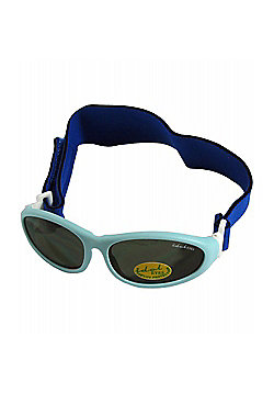 Idol Eyes Baby Wrap Sunglasses (Light Blue)