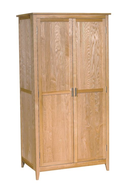 Kelburn Furniture Carlton Ash Small Double Wardrobe