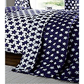 Etoile, Blue Star Quilted Throw