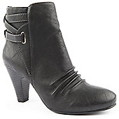 Emilio Luca X Ladies Tri Black Ankle Boot