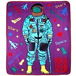 Science Museum Astronaut Fleece Blanket