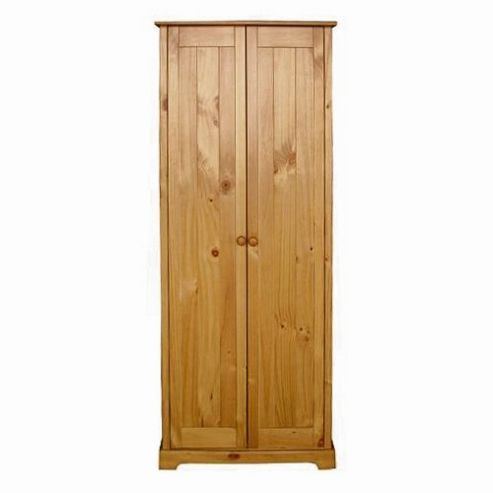 Home Zone Bedroom Atlantic 2 Door Wardrobe