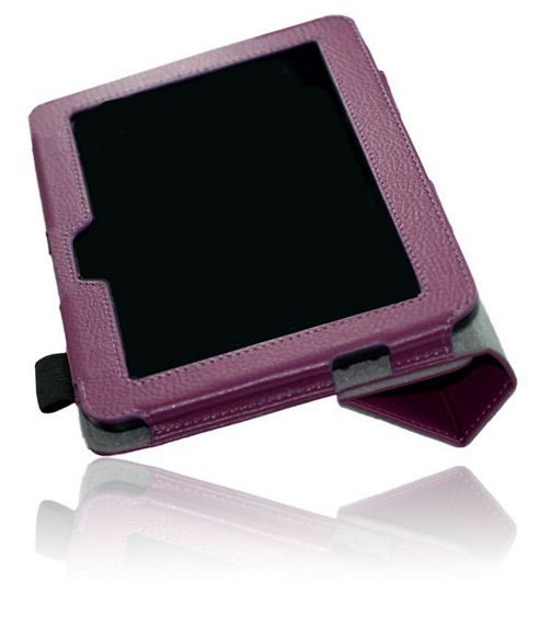 U-bop NeoORBIT Horizontal Kindle Flip Case Purple - For Amazon Kindle Paperwhite