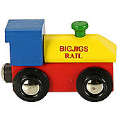 Bigjigs Rail Rail Name Engine
