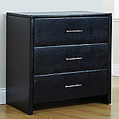 Homestead Living Reposo 3 Drawer Chest - Black
