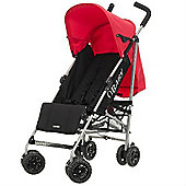 Obaby Atlas Stroller, Black/Red