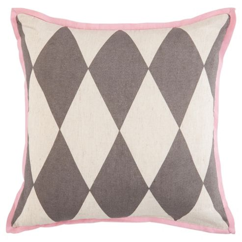 buy diamond cushion grey from our cushions range tesco. Black Bedroom Furniture Sets. Home Design Ideas