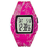 adidas Performance Duramo XL Womens Ladies Digital LCD Sports Watch Pink