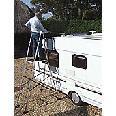 Henchman Aluminium Junior Hi-Steps Garden Ladder