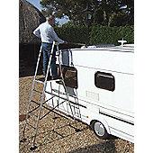 Henchman Aluminium Junior Hi-Steps Garden Ladder