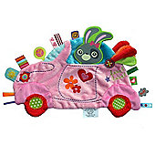 Label Label Holiday Comfort Blankie (Girls Car)