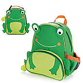 Skip Hop Zoo Pack Kids Backpack & Lunch Bag - Frog