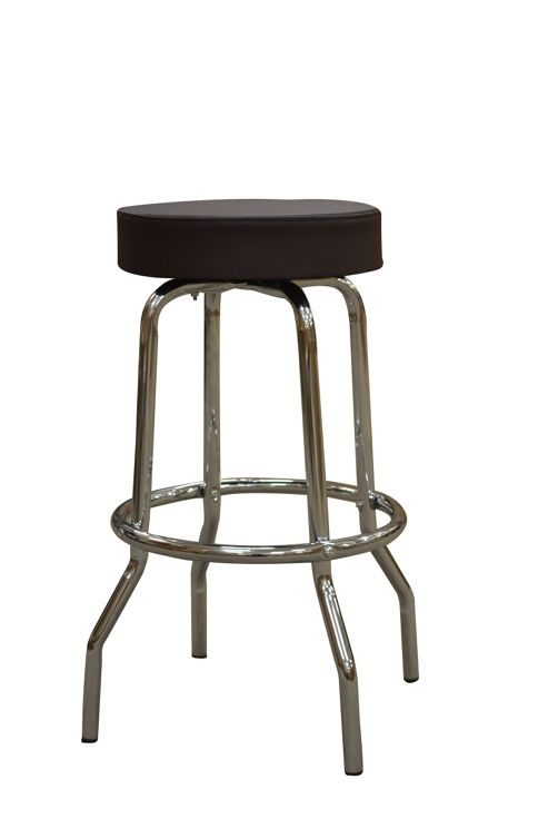 buy american diner style faux leather bar stool from our. Black Bedroom Furniture Sets. Home Design Ideas