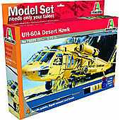Model Set - UH-60A Desert Hawk - 1:72 Scale - 71025 - Italeri