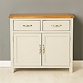 Mullion Painted 2 Door Sideboard - Stone Grey