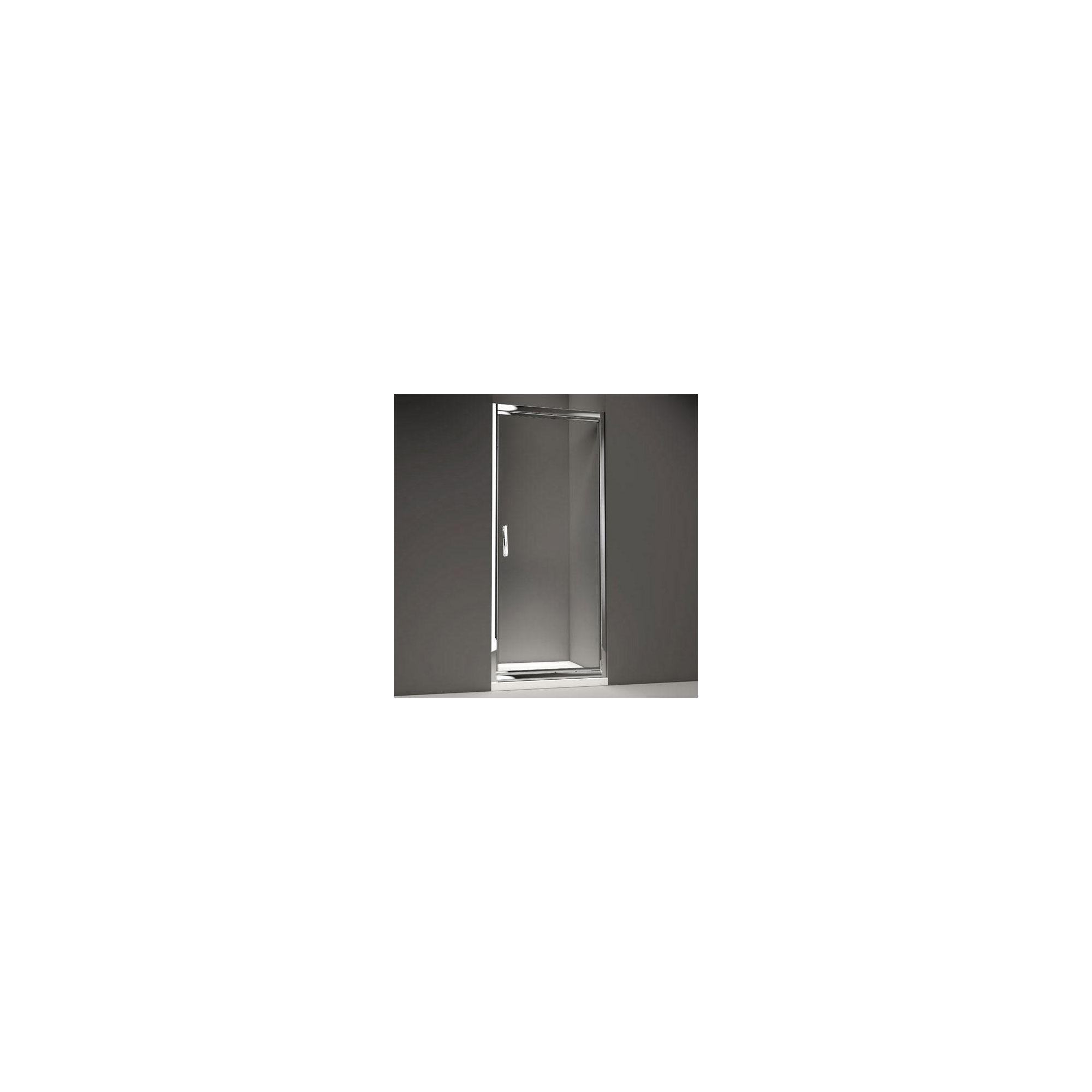 Merlyn Series 8 Infold Shower Door, 700mm Wide, Chrome Frame, 8mm Glass at Tescos Direct