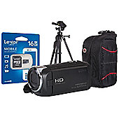 Sony HDR-CX240 Camcorder Kit inc 16GB MicroSD, SD Adaptor, Tripod & Case