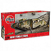 WWI Female Tank (A02337) 1:76