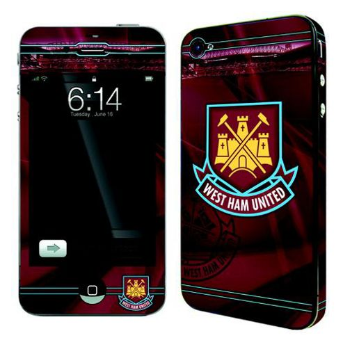 West Ham 50553 FC iPhone 4 Skin Case