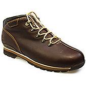 Timberland Splitrock BrownLeather Hiking Boots - 8.5