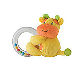Mothercare Baby Safari Ring Rattle- Elephant