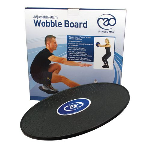 Yoga Mad 40cm Adjustable Wobble Board