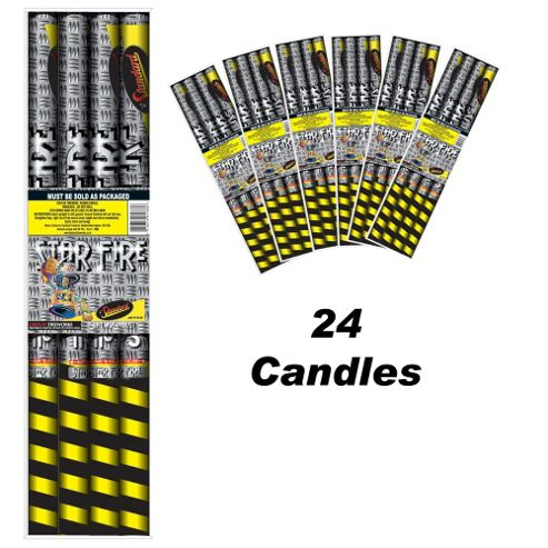 Star Fire 24 Roman Candle Firework
