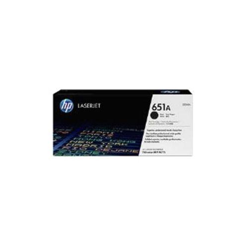 HP 651A Black Smart Toner Cartridge (Yield 13500 Pages) for LaserJet Enterprise 700 M775dn/M775f/M775z/M775z+ colour Multifunction Printers