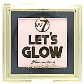 W7 Lets Glow Illuminating Pressed Face Powder