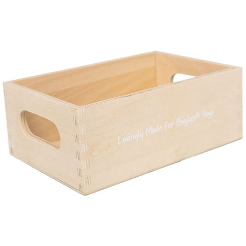 Bigjigs Toys Wooden Food Crate