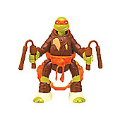 Teenage Mutant Ninja Turtles - 14cm Throw 'n Battle Michelangelo