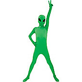 Morphsuit Alien - Child Costume 10-12 years