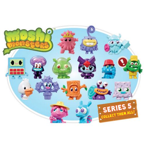 Moshling Collectables Series RANDOM Moshi Monsters Vivid Imaginations