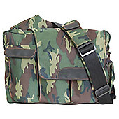 Diaper Dude Flap Messenger II Changing Bag Camouflage