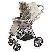 Bebecar Ip-Op Evolution Chrome Pushchair (Fudge)