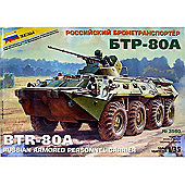 Zvezda - BTR-80A Russian Armoured Personnel Carrier - 1:35 3560