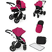 ickle bubba Stomp V2 All-in-One Travel System (Pink)