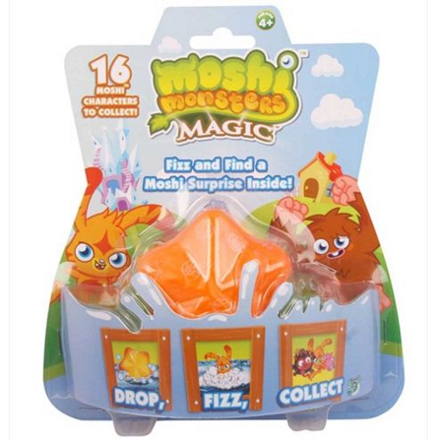 Moshi Monsters Fizz 1 Pack Blister