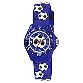 Tikkers Blue Football Mad Watch