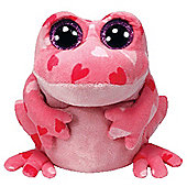 Smitten Frog Beanie - Reptiles & Amphibians Stuffed Animal by Ty (36101)
