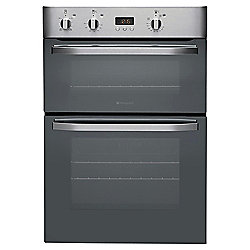 Hotpoint DHS53XS Stainless Steel double electric oven 60cm