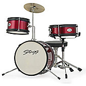 Stagg TIM JR 3/12 RD Junior 3 Piece Drum Kit - Red