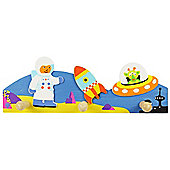 Bigjigs Toys BJ964 Coat Hook (Space)