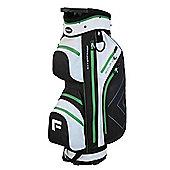 "Forgan Golfdry 9.5"" Waterproof Golf Trolley Bag White/Green/Black"
